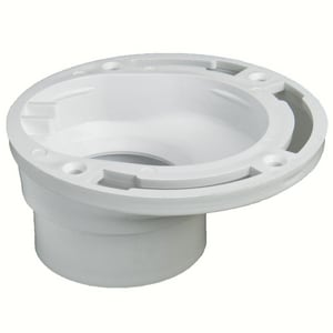 Plastic Oddities 3 - 4 in. PVC Overall Size Closet Flange PPOF100