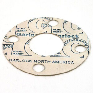 Blue-Gard®3200 1/2 x 1/16 in. 700# Fiber Full Face Gasket G3200FFG150116