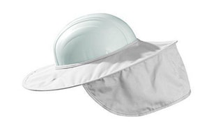 Occunomix Stow-Away Hard Hat Shade in White O899008