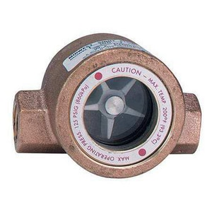 Dwyer 1/2 in. 20 psi Sight Flow Indicator DSFI100D