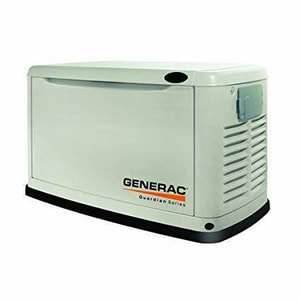 Generac Power Systems Remote Standby Generator for Generac Power Systems Guardian Series Residential Standby Generators Air-Cooled Gas Engine G6463