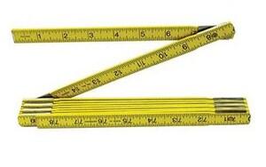 Keson 6-1/2 ft. Fold Wood Ruler KWR1018