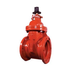 Clow Valve Model 2638 10 in. Mechanical Joint Ductile Iron Open Left Resilient Wedge Gate Valve C26381030117400