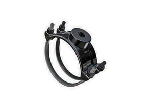 Romac Industries 10 x 1 in. IP Double Strap Saddle R202111042