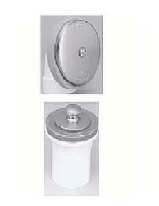 Watco 615 Series Plastic Lift & Turn Drain in Chrome Plated W615LTABSCP