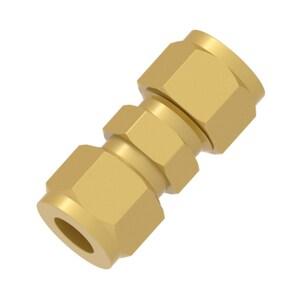 Hy-Lok USA 1/4 in. Tube Brass Union HCUABRAS