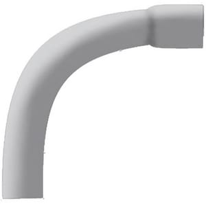 Specified Fittings 2 in. Bell End Straight Schedule 40 PVC 90 Degree Elbow with 36 in. Radius S30030704