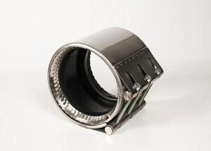 Romac Industries 10 in. 230 psi 304 Stainless Steel Coupling RALOCK107508230111