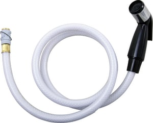 Chatham Brass 4 ft. Black Head with Hose and Adaptor CCB4224