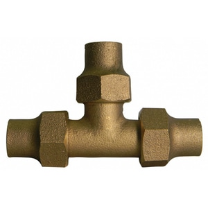 A.Y. McDonald 1-1/2 in. Flared Water Service Brass Tee M74760J