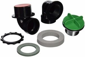 Watco Innovator® 900 Series Plastic Lift & Turn Drain in Polished Nickel W901PPRIABSCP