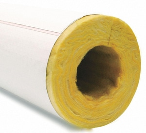 Specialty Products & Insulation 4 x 1/2 in. IPS Fiberglass Insulation FIDPIPS