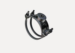 Romac Industries 8 x 1-1/2 in. CC Iron Double Strap Saddle R202NU098061