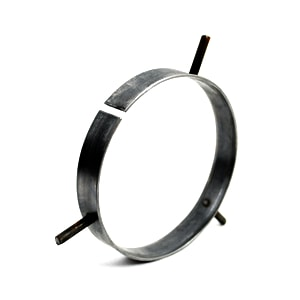 Robvon Backing Ring 2-1/2 in. Carbon Steel Weld Ring WRCCCCS