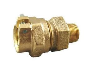 Cambridge Brass 1 in. IPS Compression x MIP Brass Adapter C117NLPJM