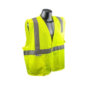 Radians XXXL Size Safety Vest in Hi-Viz Green RSV2GM3X