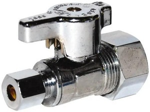 D'Angelo Metal Products 1/2 in. Chrome Threaded Check Valve DCPCVD