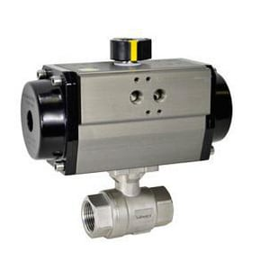 Flowserve Series F39 120V Air Actuator 120 psi 9-18/25 in. Stainless Steel F35F39N