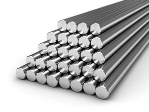 1/4 in. 316 Stainless Steel Solid Round Bar TRB6L