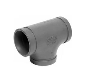 Gruvlok 1-1/2 in. Sock-It Cast Iron Tee G7103J