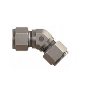 Tylok 1/2 in. OD Stainless Steel 45 Degree Elbow TSS8DELU458