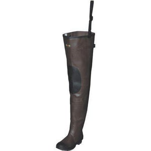 Seasonal Marketing Size 9 Rubber Hip Boot with Knee Harness in Brown SCA2901WSZ