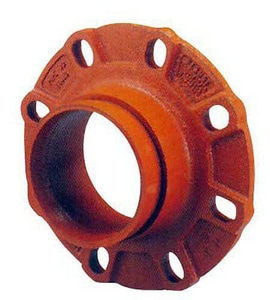 Star Pipe Products 200 Series 3 in. Straight Ductile Iron Flange Adapter with Gasket SSF203G