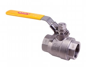 V210FP 1/2 in. 316 Stainless Steel Full Port Threaded 1000# Ball Valve MKV210FP08