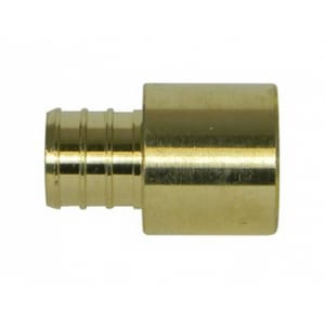 A.Y. McDonald 1/2 in. PEX x Male Sweat Brass Adapter M72300SMD