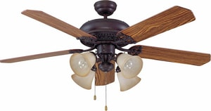 Craftmade International Grandeur 52 in. Ceiling Fan with Blades in Aged Bronze Brushed CGD52ABZ5C