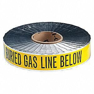 Chicago Fittings 1000 ft. x 2 in. Gas Detector Tape C10170
