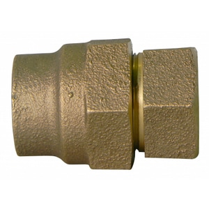 A.Y. McDonald 1-1/2 in. CTS Compression x FNPT Brass Straight Coupling M74754GNJ