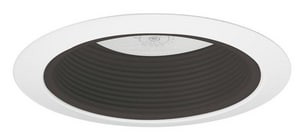 Juno Lighting 75W Enclosed Baffle Recessed Housing and Trim in Black J661209021922