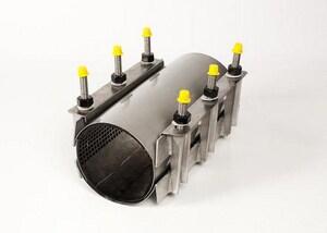 Romac Industries 16 x 10 in. Repair Clamp 12.20 - 11.40 in. RSS212201672