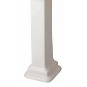 Barclay Products Limited Evolution™ Pedestal Lavatory Small Column Only in Bisque BC3860BQ