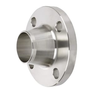 1 in. Weldneck 300# Extra Heavy 316L Stainless Steel Raised Face Flange IS3006LRFWNFXHBG
