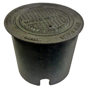 Raven Products 18 x 18 in. Round Meter Pit RRMP1818