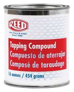 REED 16 oz Metal Beige Pipe Joint Compound R98425 at Pollardwater