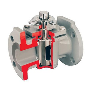 Durco-Brand of Flowserve G4 Series 3/4 in. Stainless Steel 740 psi Flanged Plug Valve D34G4Z11D4D4