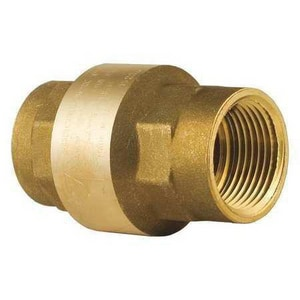 Bonomi USA 1/2 in. Brass Threaded Check Valve B10012LF