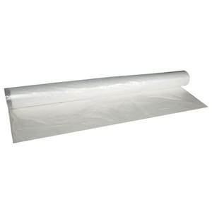 Supply Source 60 x 50 x 88 1-1/4 mil. Poly Bag Clear 50 Roll CLRPOLYBAG