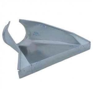 Advanced Drainage Systems 18 in. Galvanized Floor End Section A1875NS