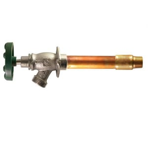 Champion-Arrowhead 466 Series 1/2 x 3/4 in. Copper Sweat and MIP x Hose Thread Wall Hydrant A46612QTBCLD
