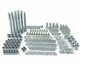 2 in. Grade-B7 Zinc Bolt Kit CFASMBK020A250Z