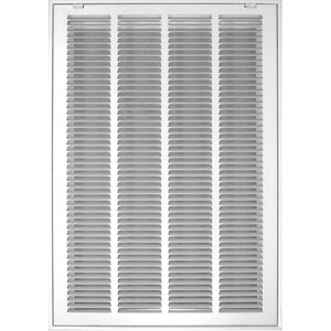 Accord Ventilation Products 14 x 20 in. Return Air Filter Grille in White A52014WH