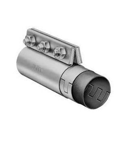 Morris Coupling 5 x 8 in. Galvanized Stainless Steel Compression Coupling for 5.56 in. OD Pipe M015564B2FG