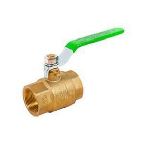 Matco-Norca 759LF 2 in. Brass Full Port Threaded 600# Ball Valve M759T08LF