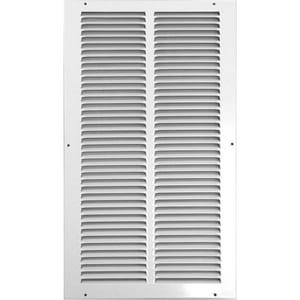 Accord Ventilation Products 18 x 8 in. Return Air Grille in White A50018WH