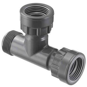 Advanced Drainage Systems 24 x 24 x 15 in. Reducing Single Manifold Tee A51AN45