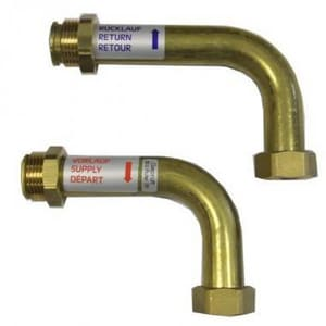 Advanced Drainage Systems Stormtech™ 12 x 12 in. SC740 Manifold 90 Degree Bend A1298AN74